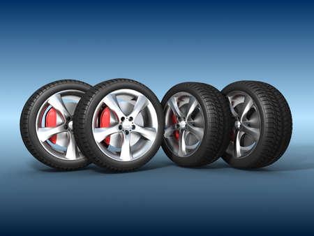 Tyres  Stock Photo - 11325805