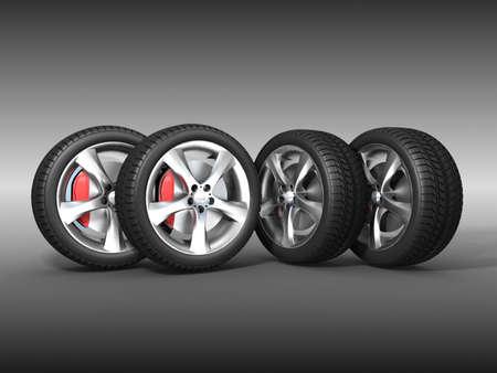 Tyres  Stock Photo - 11325807