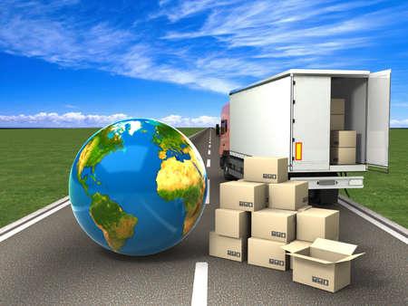 leveringen: Vervoer