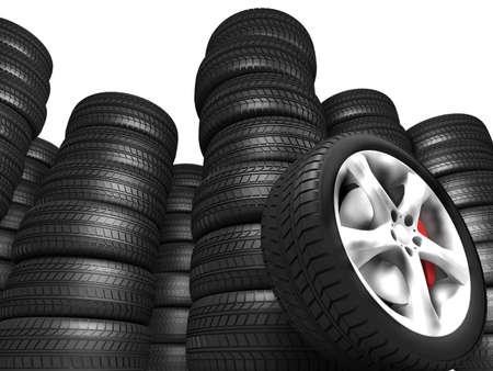 pneumatic tyres: Tyres