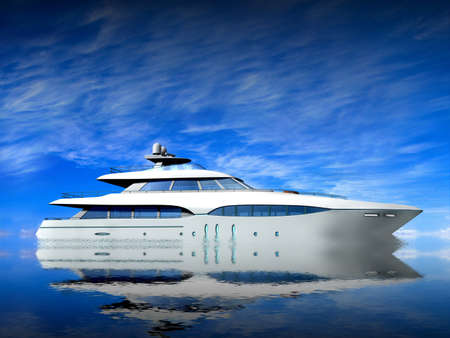 super yacht: Luxury Yacht