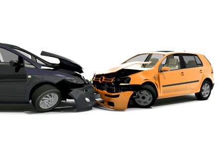 wreck: Car accident