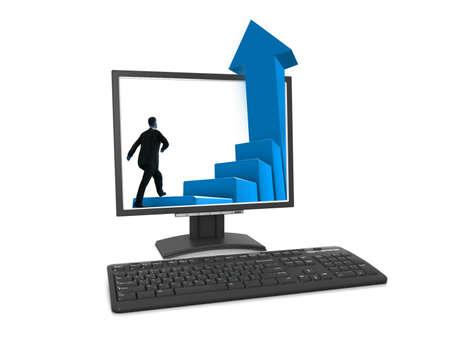 macintosh: Modern computer Stock Photo