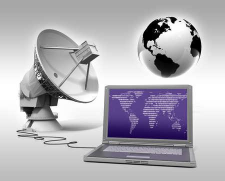 Global communication photo