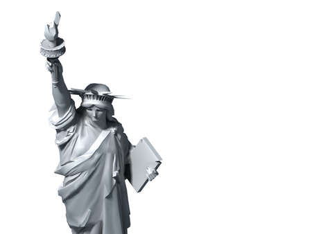 adverts: Statue of Liberty for use with adverts.