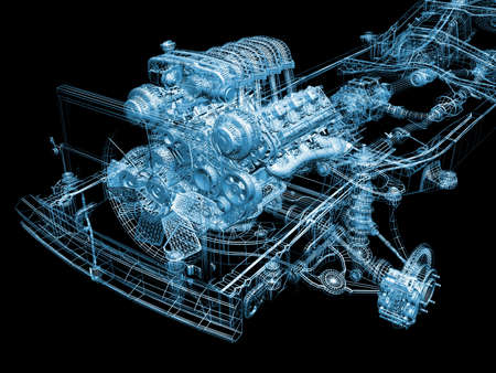 모터쇼: 자동차 부품