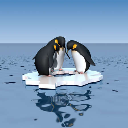 Leuk pinguïns