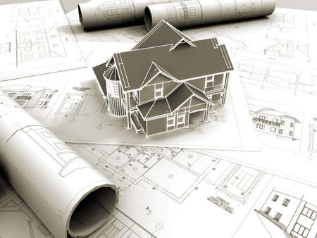 arquitecto: Modelo 3D de