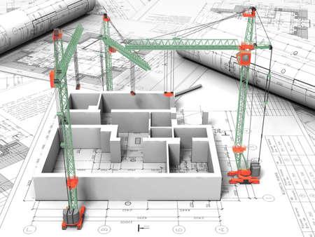 3D-Grundriss-Zeichnung