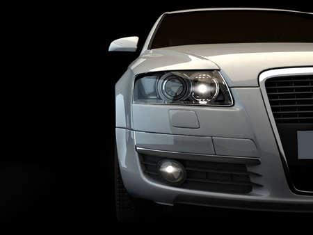 Schnelles Auto Standard-Bild