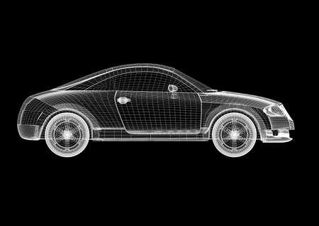 Modèle de voiture