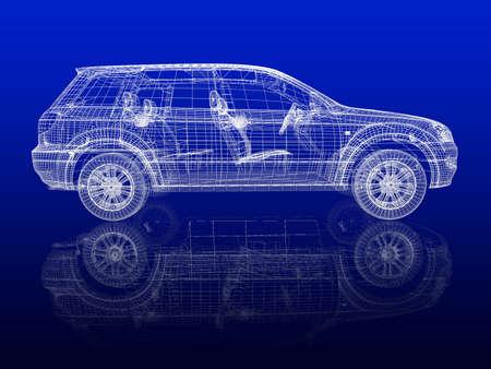 Car model Stock Photo - 12558541