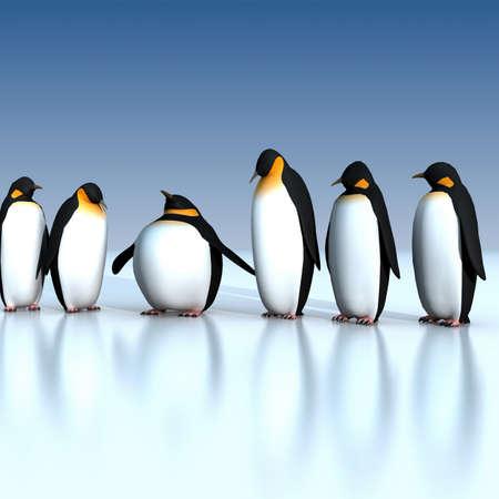 Diversión pingüinos