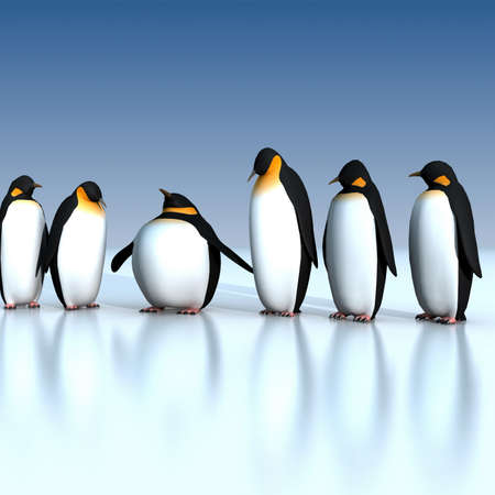 extraordinary: Fun penguins