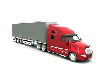 freight traffic: Modern Truck