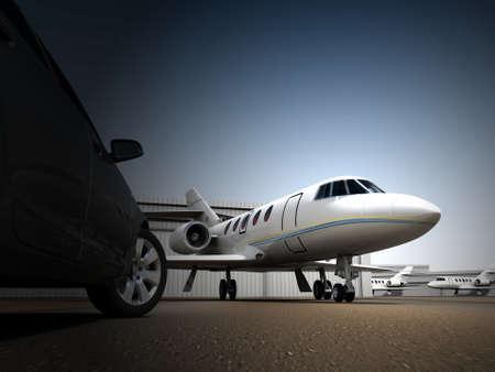 Luxury Transportation Stock Photo