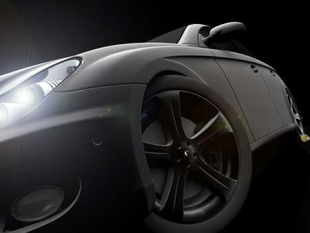 dream car: Coche Foto de archivo