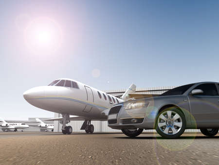 Luxury Transportation Stock Photo