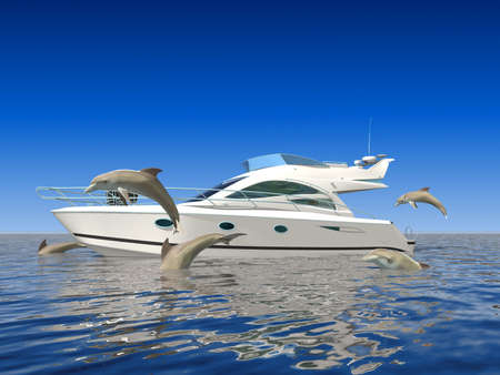motor show: Dolphins