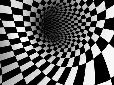 Checkered Textur 3d Hintergrund Standard-Bild - 17270076