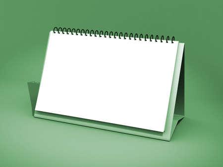 Blank calendar Stock Photo - 17269921