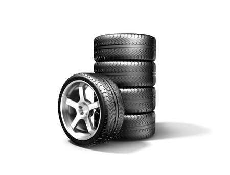 New wheels Stock Photo - 17270065