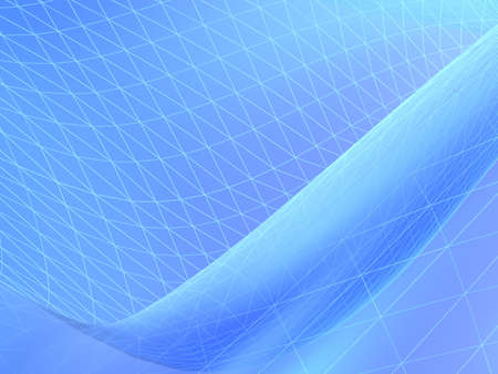 winter blues: blue abstract composition Stock Photo