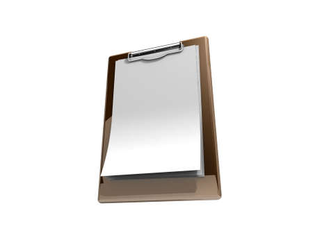 Blank clipboard  Stock Photo - 20698838