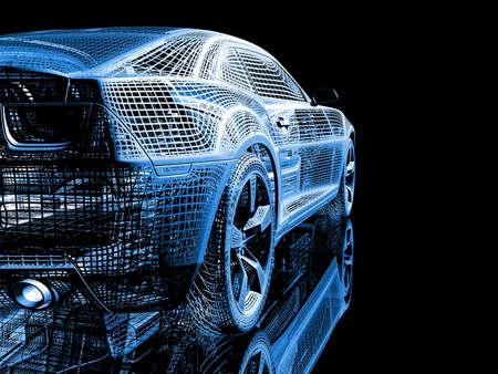 wire car Stock Photo