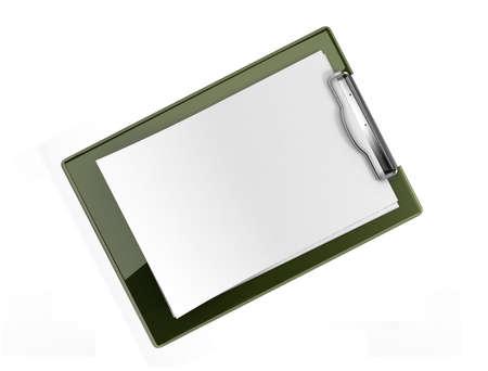 Blank clipboard Stock Photo - 20699023