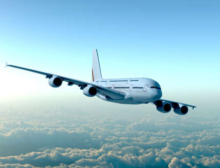 Airplane Reklamní fotografie