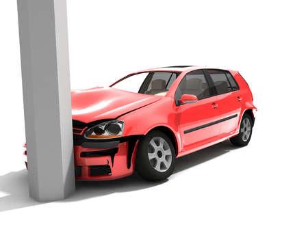 Car accident  Stock Photo