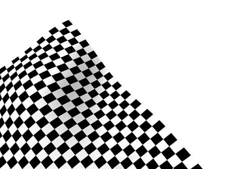 Checkered texture 3d background Stock Photo - 24248214