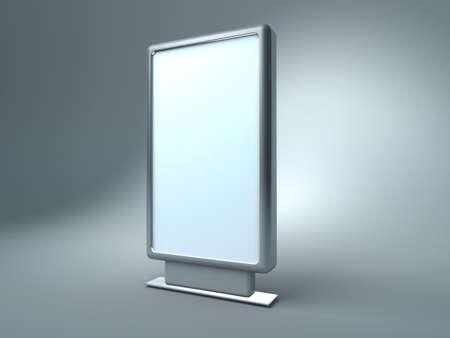 adboard: blank  billboard