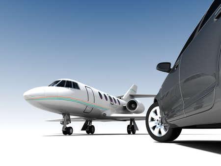 luxe Vervoer Stockfoto