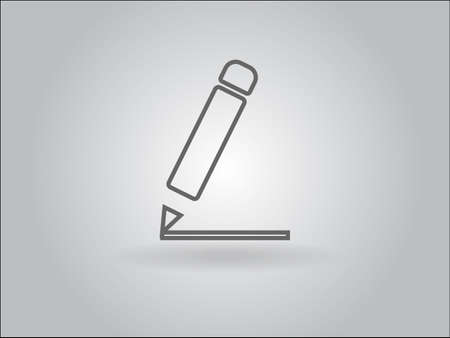 Flat  icon of notes Vector