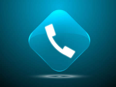 3d Vector illustration of a phone icon Stock Vector - 29187744