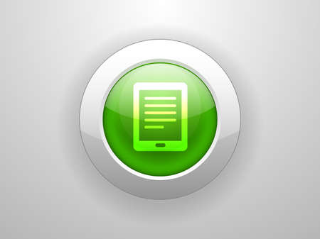 touchpad: 3d Vector illustration of touchpad icon Illustration