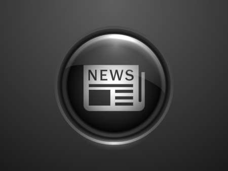 3d Vector illustration of news icon Stock Vector - 29189406