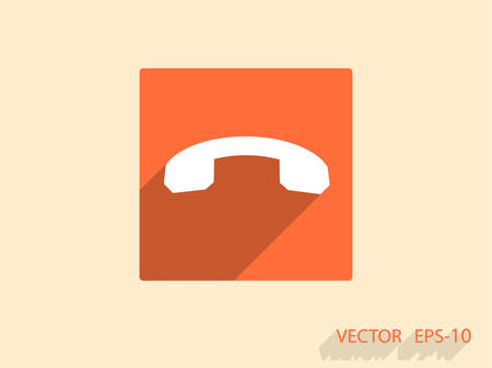 miss call: Call off icon
