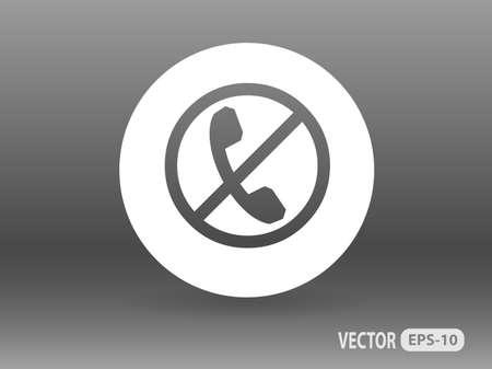 turn off: turn off phone icon
