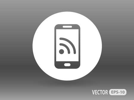 modern palmtop: RSS icon