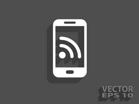 syndication: Icono RSS Vectores