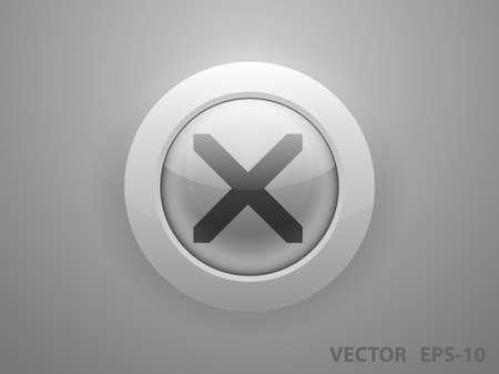 disallowed: Flat  icon of prohibit