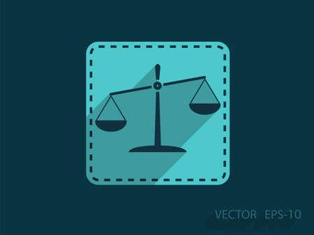 equilibrium: Flat  icon of Justice