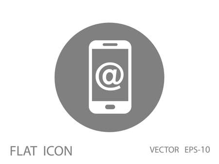 personal data assistant: Mobile mail icon