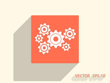 gear icon: Gears icon