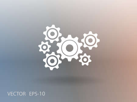 gear motion: Gears icon