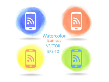 modern palmtop: RSS mobile icon