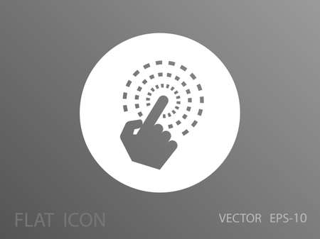 hand touch: Hand Touch icon, vector illustration